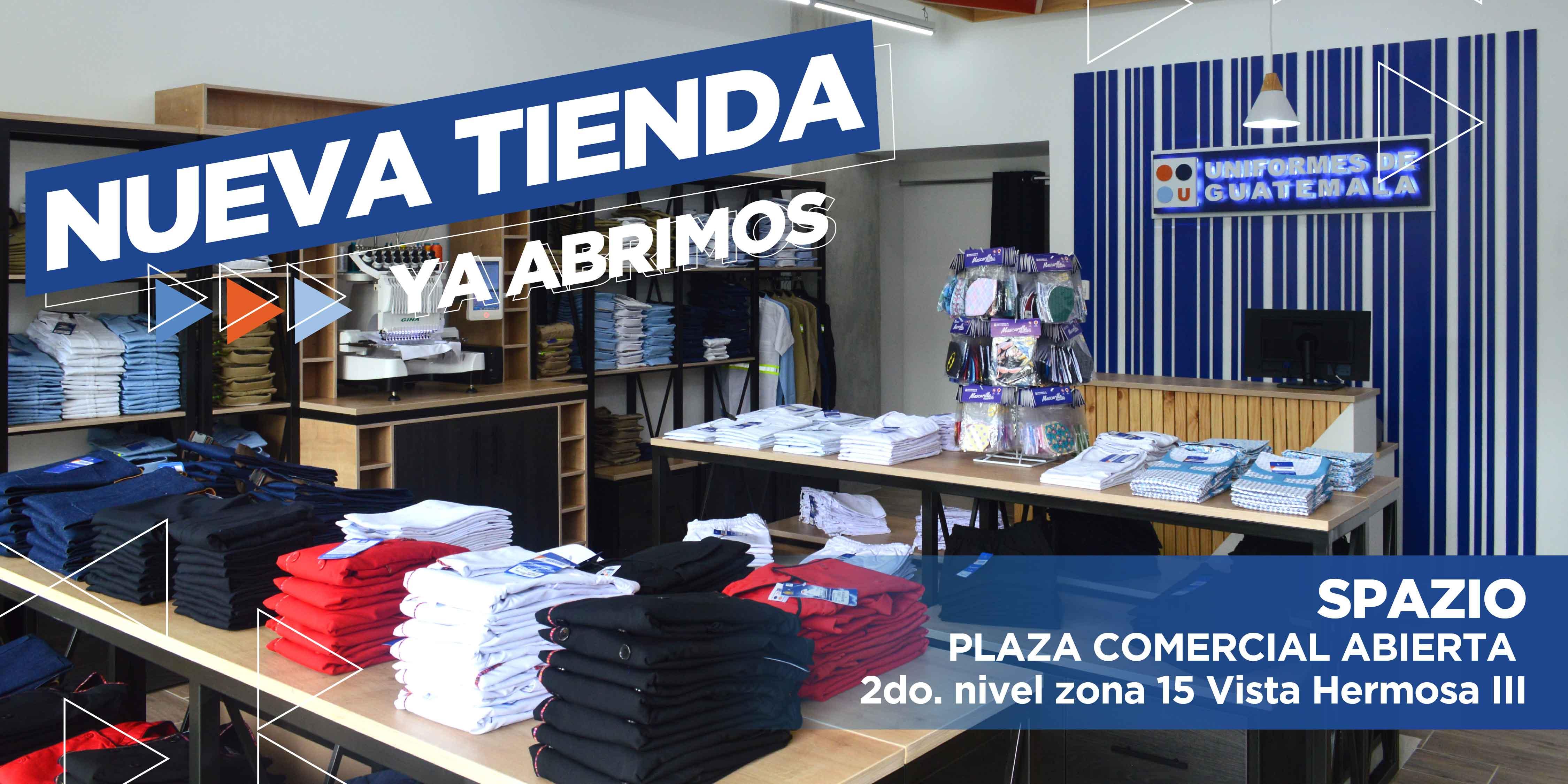 Nuevo Spazio para tus uniformes